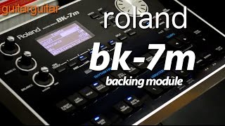 Download Roland BK-7m Backing Module MP3 song and Music Video