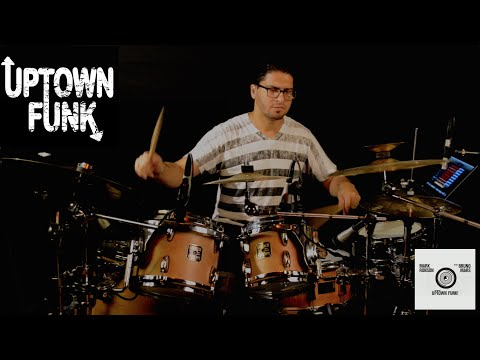 Mark Ronson Ft. Bruno Mars - Uptown Funk - Drum Cover by Leandro Caldeira