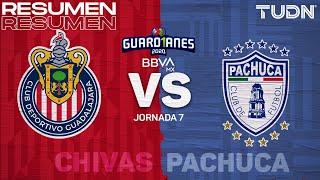Resumen | Chivas vs Pachuca | Guard1anes 2020 Liga BBVA MX - J7 | TUDN