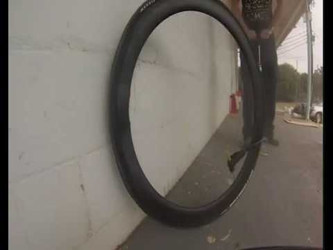 EXPLOSION:Carbon Bicycle Rim Bead Hook Destructive Test - Snyder Cycles