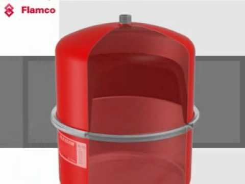 Membran Ausdehnungsgefäß Flexcon Top 18 L Flamco Heizung Solar Liter 6.0 bar