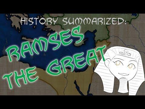 History Summarized: Ramses The Great