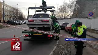Живодеры: Эвакуация автомобиля с собакой попала на видео!