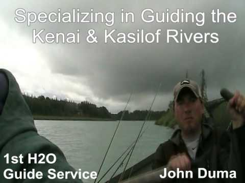Kasilof River Alaska Fishing For Silver Salmon With Fishing Guide John Duma