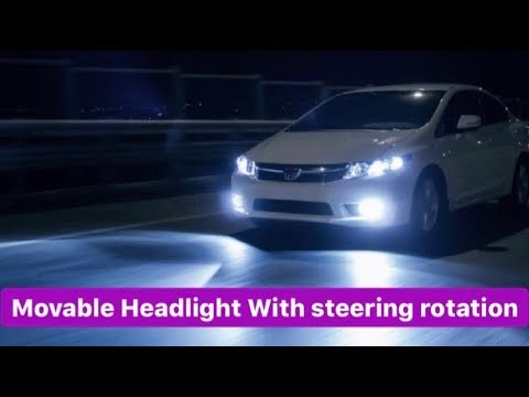 Download MOVABLE HEADLIGHT WITH STEERING DEMO MODEL