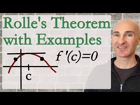 Rolle's Theorem with Examples