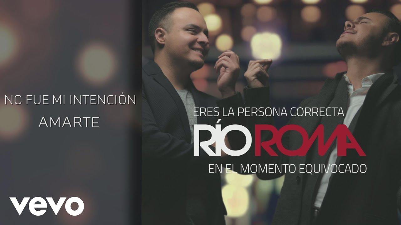 Río Roma - No Fue Mi Intención Amarte (Cover Audio)