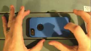Commuter Otterbox iPhone 5 Installation Review Screen Protector Installation
