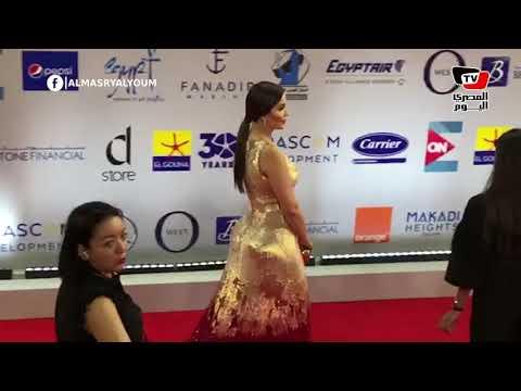 نور وتامر هجرس في ثاني أيام مهرجان الجونة السينمائي  - 22:54-2019 / 9 / 20