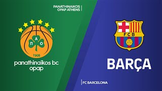 Panathinaikos OPAP Athens - FC Barcelona Highlights | Turkish Airlines EuroLeague, RS Round 27