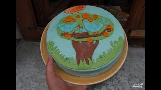 Детский торт с мастикой своими руками. Видео рецепты
