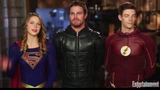 Кроссовер сериалов DC в русской озвучке (Supergirl, Flash, Arrow, Legends Of Tomorrow)