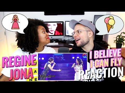 Regine Velasquez & JONA – I Believe I Can Fly  Queen of the Night Concert  REACTION