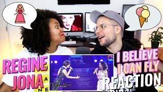 Regine Velasquez & JONA – I Believe I Can Fly   Queen of the Night Concert   REACTION