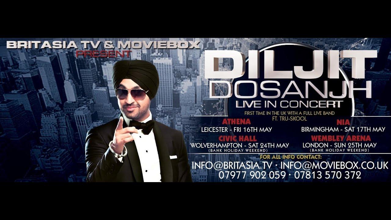 Permalink to Diljit Dosanjh Uk Tour 2018