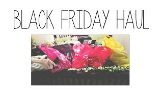 Black Friday Haul 2013 + Collab Channel Announcement Thumbnail