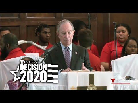 Michael Bloomberg Recibe Una Fría Acogida En Selma, Alabama   Noticias Telemundo