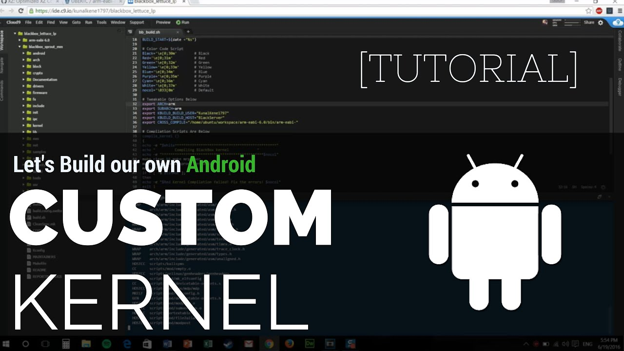 build android kernel