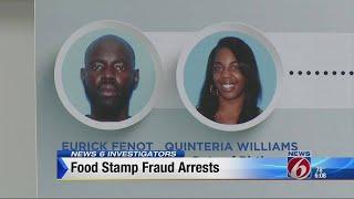 Food stamp fraud arrests