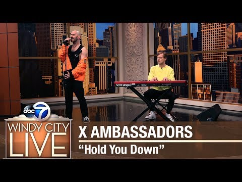 """X Ambassadors performs """"Hold You Down"""""""
