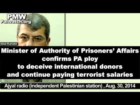 Palestinian minister confirms PA ploy to continue terrorist salaries