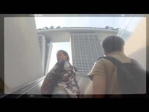 [1 minute trip] Marina Bay Sands Singapore