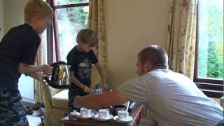 Tea Time at Dalhousie Castle, part 1