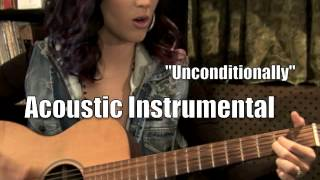 Katy perry - unconditionally (acoustic instrumental)