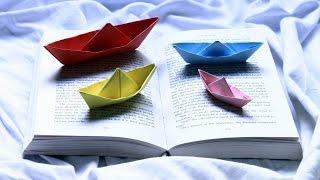 Илья научит делать Кораблик из бумаги!