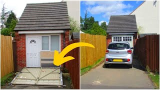 Couple Hid A Big Secret Behind This Garage Door Until The Authorities Discovered Their Scheme