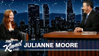 Julianne Moore on Auditioning for Dear Evan Hansen, Douchebags at a Knicks Game \u0026 Flooding in NYC