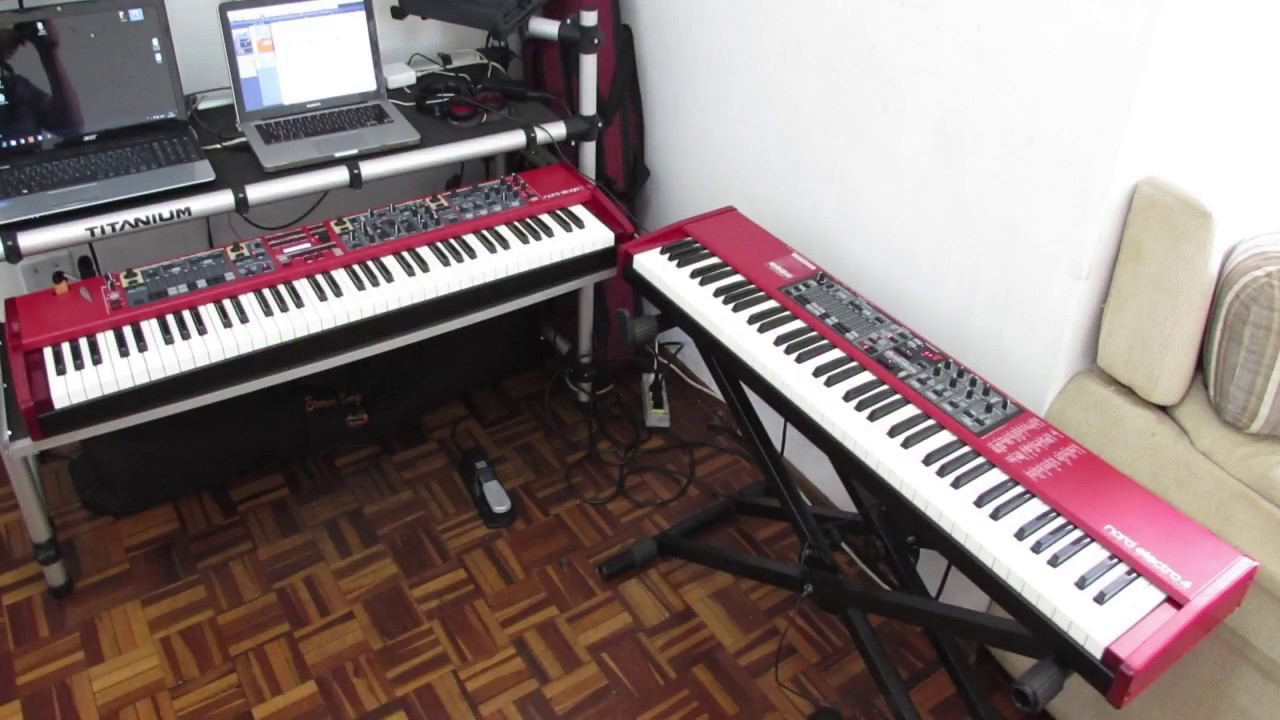 nord stage 2 vs nord electro 4 electric piano youtube. Black Bedroom Furniture Sets. Home Design Ideas