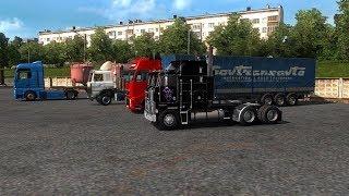 Euro Truck Simulator 2. Тамбов- Энгельс