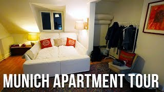 Gambar cover MUNICH APARTMENT TOUR IN GERMANY+ AIRBNB TIPS | TRAVEL