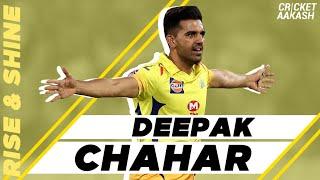 How did DEEPAK CHAHAR make it to #TeamIndia? | Rise & Shine | INTERVIEW | CricketAakash