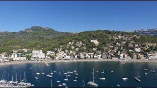 Drone Tour of Port de Soller, Mallorca, Spain, Part 2