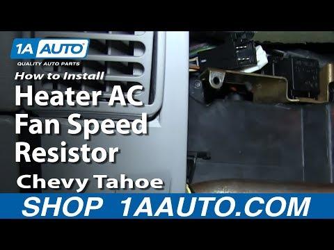 Hqdefault on 2000 Chevy Silverado Blower Resistor