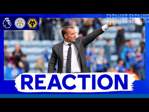 'A hard-won victory' - Brendan Rodgers |  Leicester City 1 Wolverhampton Wanderers 0