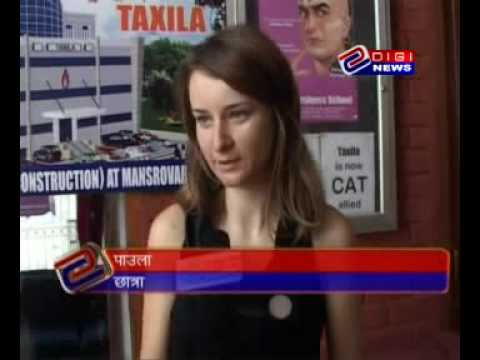 Foreign students at Taxila Business School Jaipur  MBA Internship