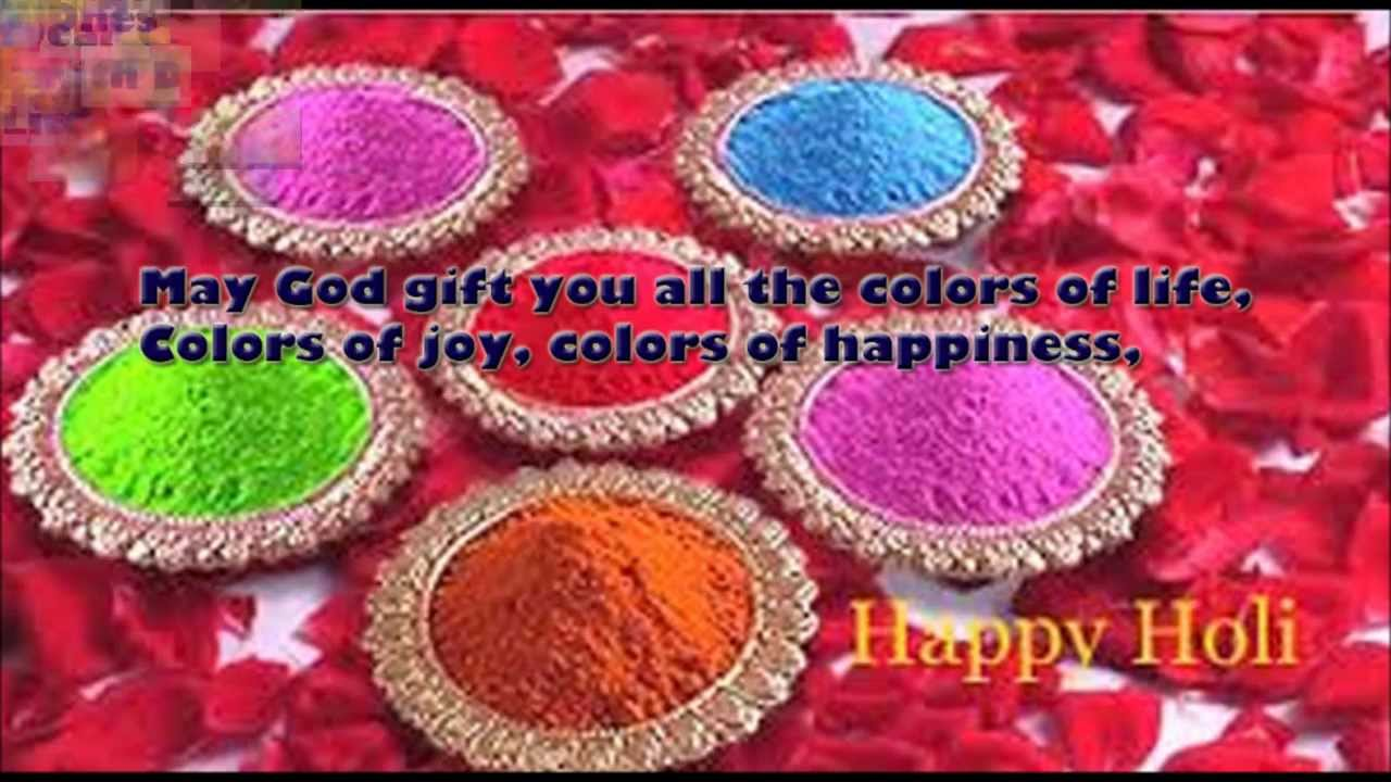 Happy Holi Wishes 2016 Whatsapp Music Video Wallpaper Images