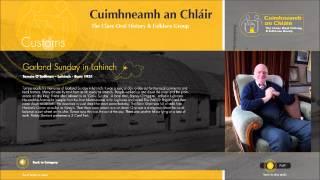 Cuimhneamh an Chláir: Tomsie O Sullivan remembers Garland Sunday