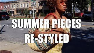 SUMMER OUTFITS RE-STYLED + A SUMMER GIVEAWAY!!!