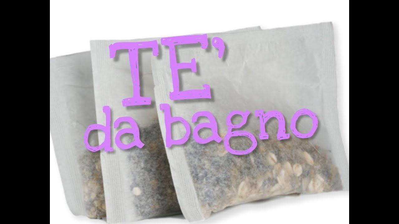 TE\' DA BAGNO FAI DA TE - DIY bath teas - - YouTube