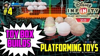 Disney Infinity 2.0 Toy Box Creations Episode 4 | Platforming Toys Tutorial (toy Box Builds)