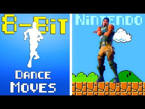 Fortnite DANCE EMOTES In 8-BIT (Sounds Better!!) *CLASSIC Retro Music*