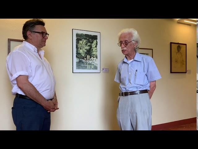 Intervista a Dino Pasquero, pittore guarenese e fondatore della Pinacoteca Comunale del Roero