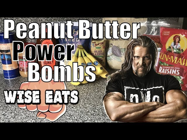 Wise Eats - Peanut Butter Power Bombs (Nutrient-Rich, Real Food Snack Recipe Video)