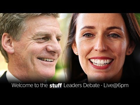 Stuff Leaders Debate