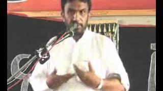 Zakir Molana Manzoor Hussain Jawadi majlis 23 oct 2013 at kot Lahri Sargodha
