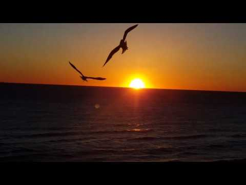 VA Beach Virginia East Coast Sunrise Caught On Camera 2/13/2017